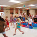 One World, Many Stories :: Week 4 :: Tae Kwon Do Demonstration :: form practice 2