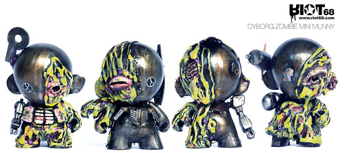 cyborg zombie :: mini munnys :: jul11.. | by riot68