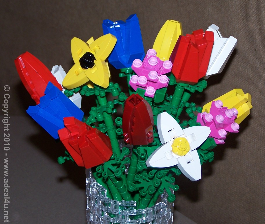 LEGO Flower Bouquet | My custom designed bouquet and vase