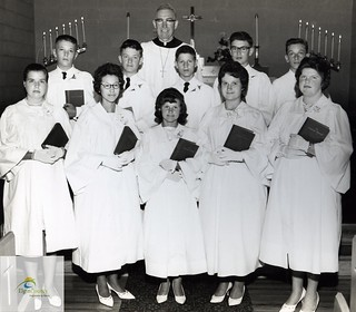 West Lorne Lutheran Church Confirmation Class, 1963 | by Elgin County Archives