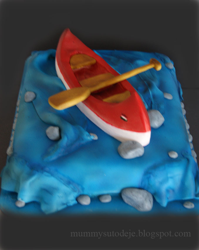 Canoe Cake Pan