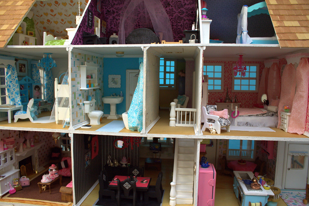 Doll House Interior | By Poppies Woodshop Designs | Kyi | Flickr