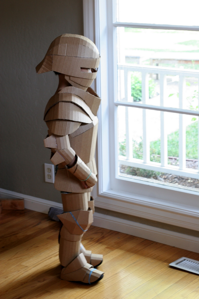 Knight Costume Unpainted Side View Full Armor Flickr