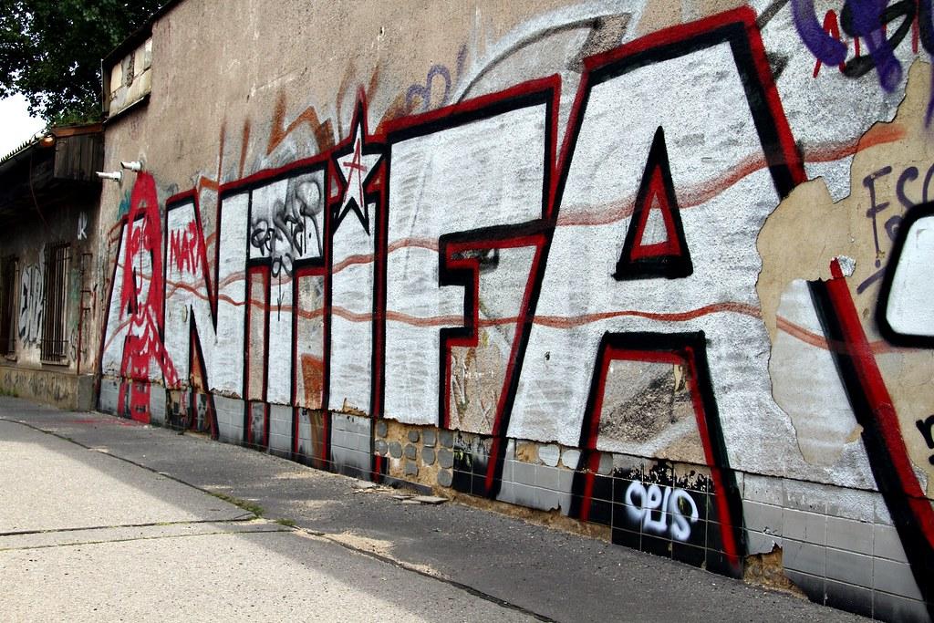 Antifa Graff | Anti Fascist Graffiti between Lihovar and ...