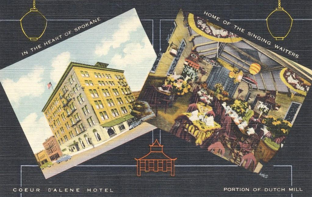 Coeur D'Alene Hotel - Spokane, Washington