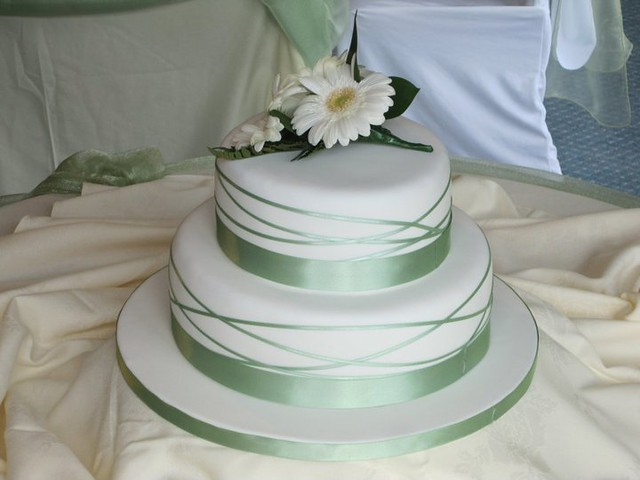 Simple 2 Tier Wedding Cake Flickr Photo Sharing