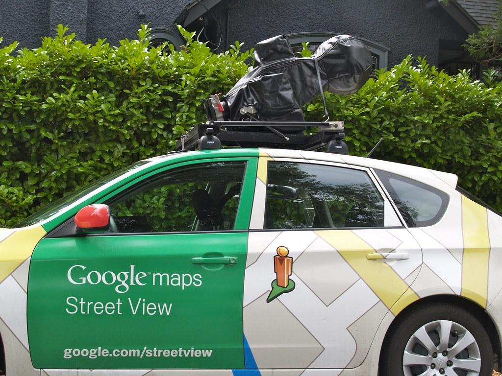 google maps street view car the elusive google maps stre flickr. Black Bedroom Furniture Sets. Home Design Ideas