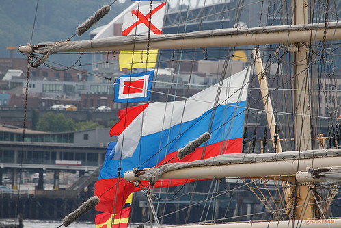 Pallada flags | by lg evans Maritime Images