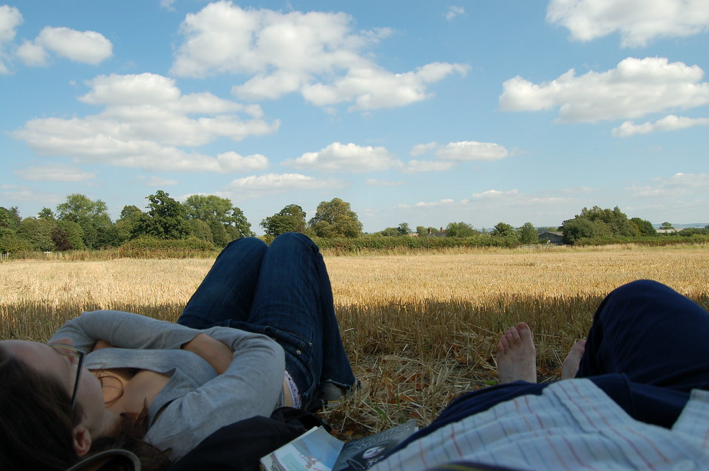 Cloud watching | Lazing in a field in Denton watching ...