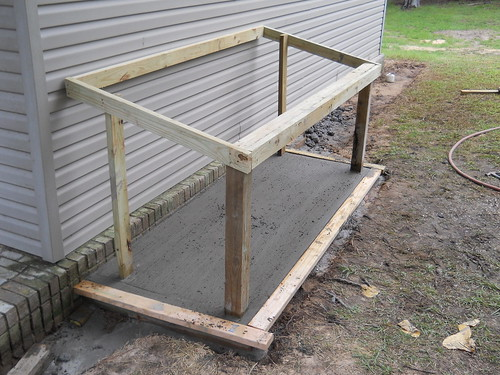 How To Build A Garbage Can Holder