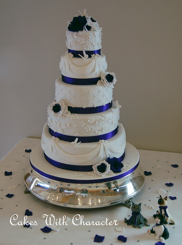 Sam Wedding Cake.Sam Shaun Wedding Cake This Wedding Cake Was For A Lovel Flickr