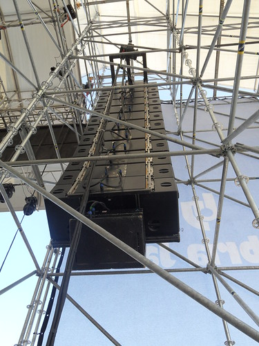Umbria Jazz 11 - main cluster: Adamson Y18 array system (Arena Santa Giuliana) | by Reference Laboratory
