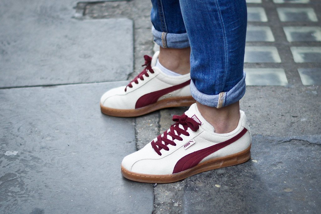 old puma trainers