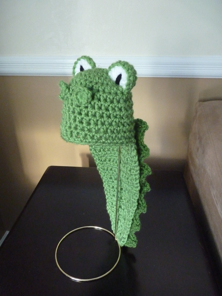 Alligator Hat See Profile For More Info Cricket Creations Flickr