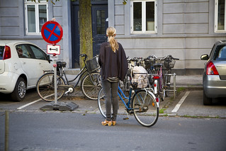 Contemplating Parking | by Mikael Colville-Andersen