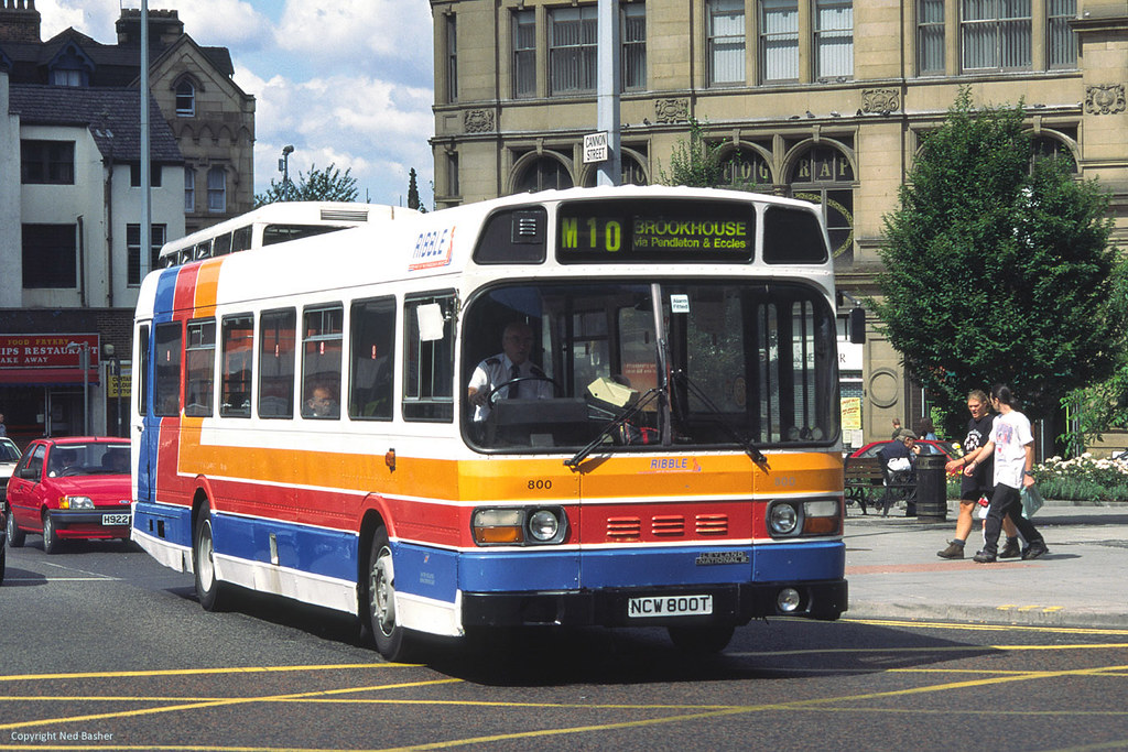 Ribble Motor Services Leyland National 2 800 (NCW800T ...