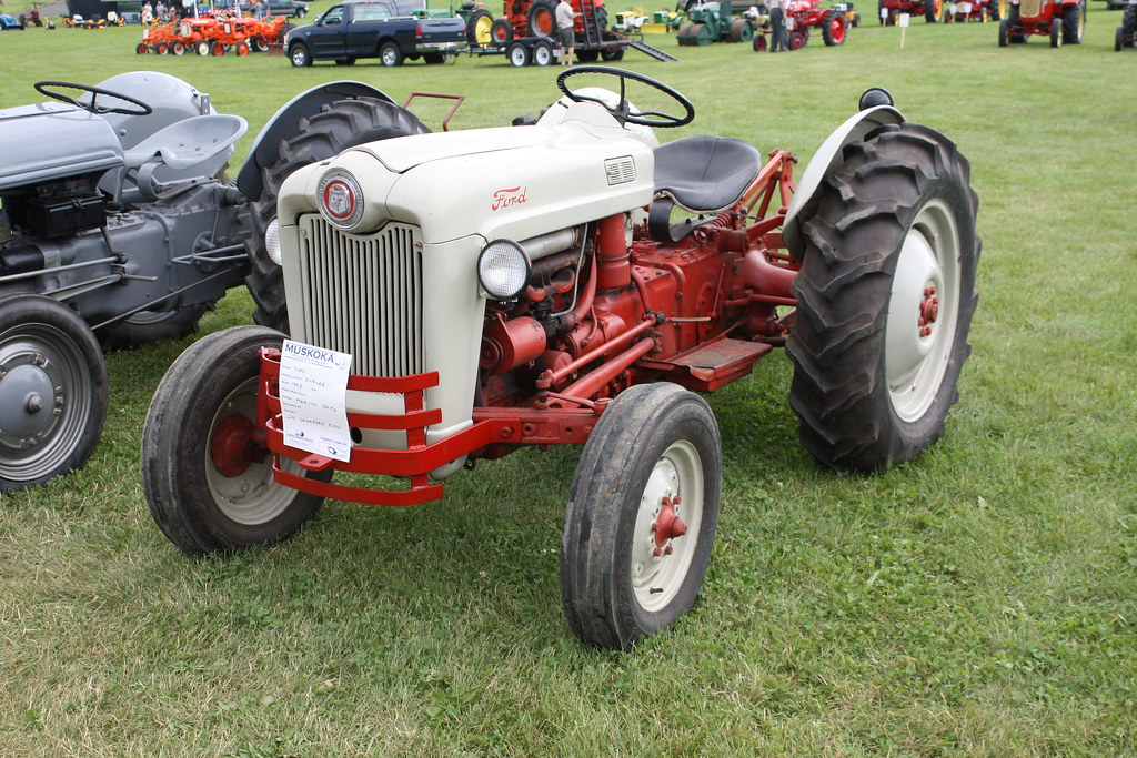 Ford Jubilee Specifications : Ford golden jubilee model farm tractor richard