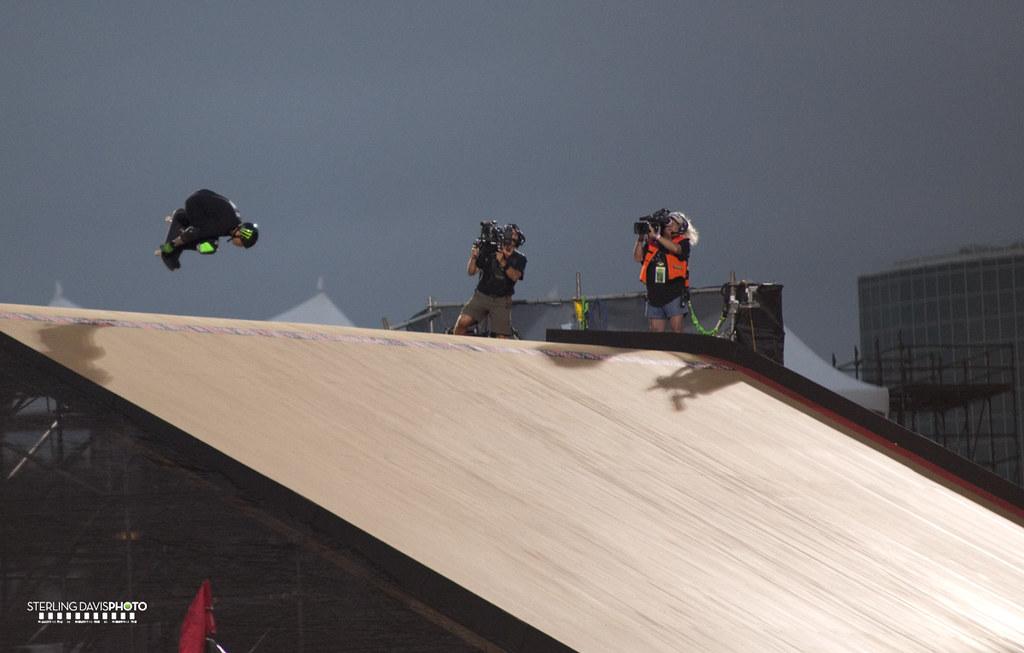 X Games Skateboard Big Air Final