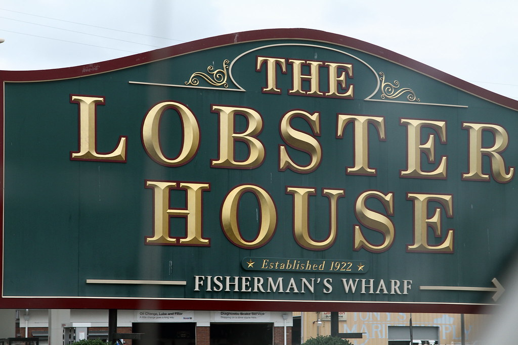 Lobster House Sign in Cape May NJ | Cape May NJ - August 4, … | Flickr