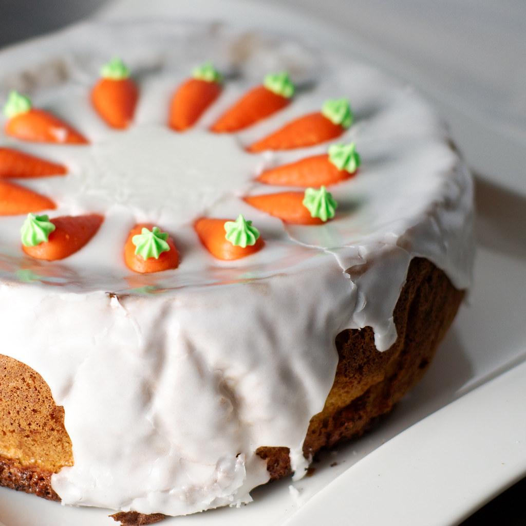 Cake Au Carottes Abricot Sucr Ef Bf Bd