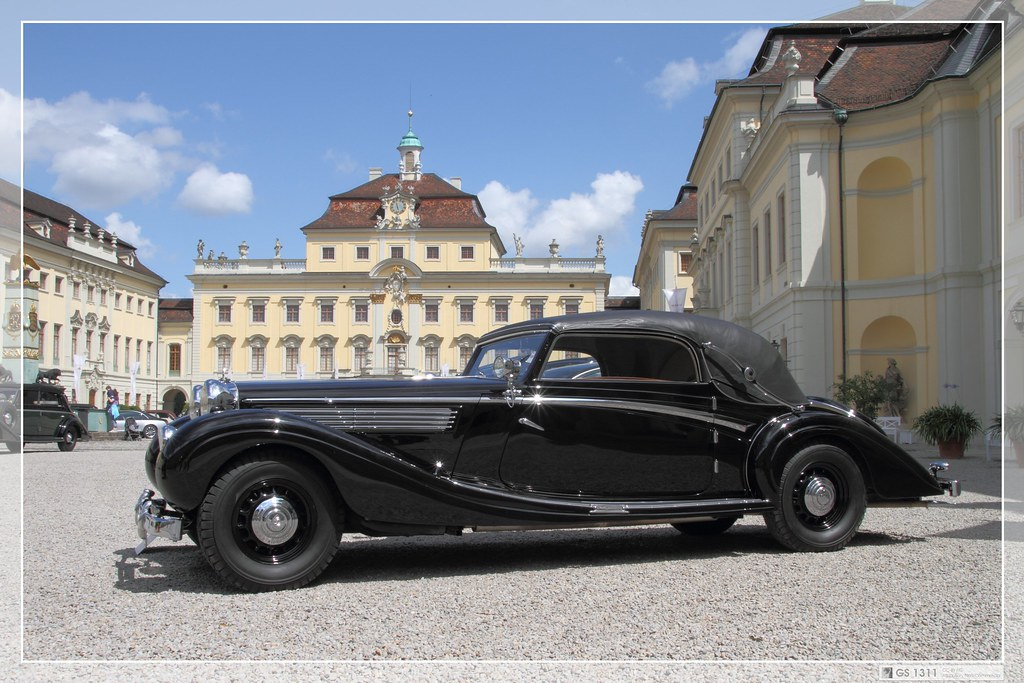 1938 Maybach Sw 38 Cabriolet Zweit 252 Rer 06 Maybach Has