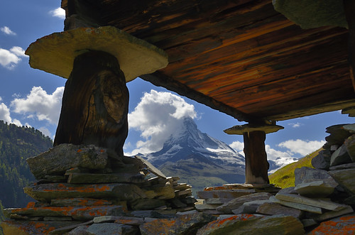 Matterhorn from Findeln | by pierre hanquin