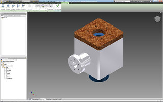 Model in Autodesk Inventor 2012 | by Autodesk Manufacturing Gallery
