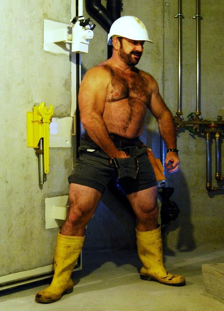 worker's legs - july 2011 | Farmerbaer | Flickr
