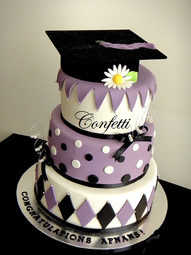 Graduation Cake Again This Is A 4 Tier Version Of A