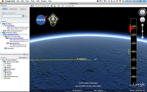 how to get a plane in google earth pro