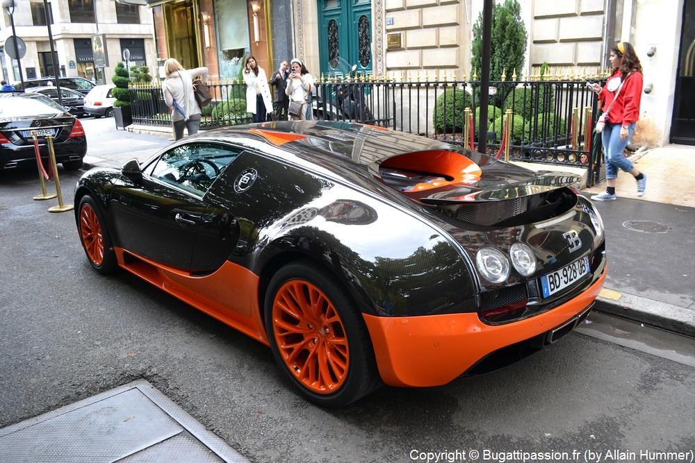 bugatti veyron super sport world record edition in paris. Black Bedroom Furniture Sets. Home Design Ideas