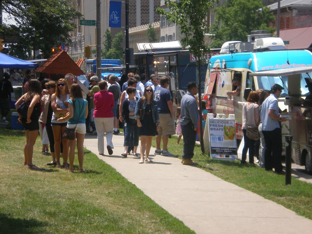 Food Truck Square Feet