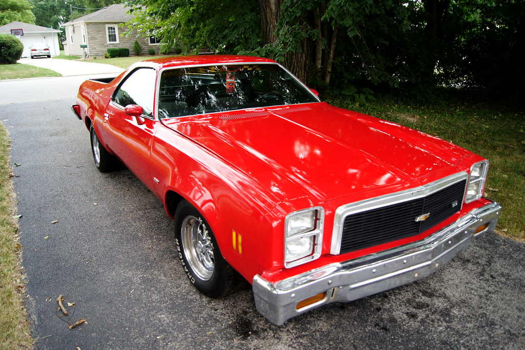 1977 chevy el camino ss as of 6 22 2001 | ryan mitchell ...