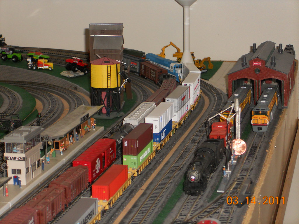 Scale Train Yard Layout Tracks For