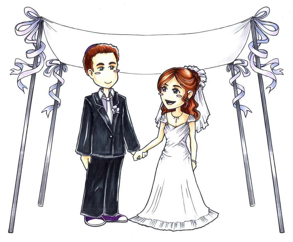 wedding cartoon wedding ceremony at the santa barbara zoo flickr