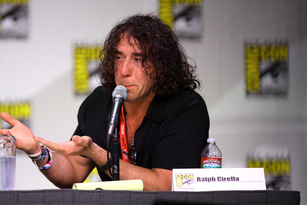 Ralph Cirella Ralph Cirella At The 2011 San Diego Comic