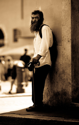 Spare a Euro Signore | by Georgio's Photography