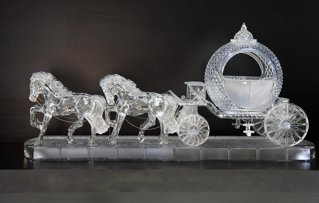Cinderella S Carriage Waterford Crystal Visitor Centre W