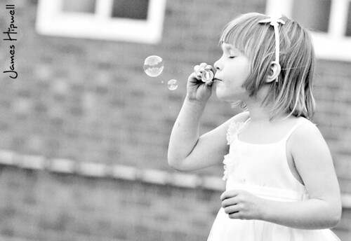 Lily Blowing Bubbles | by Hipwell Photography