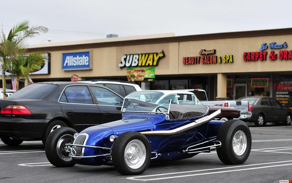Huntington Beach Ford >> 1925 Ford Model T track roadster (kit car) - dk blu met - … | Flickr