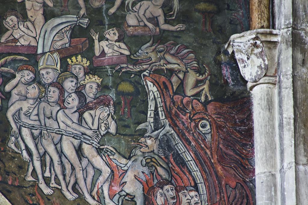 Medieval Art Hell Medieval Paintings Of ...