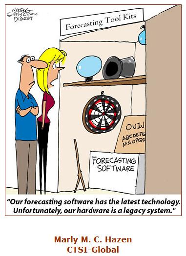 Forecasting Software Cartoon Caption Quot Our Forecasting