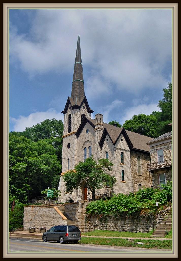 Burlington Iowa Church For Sale This Historic Stone