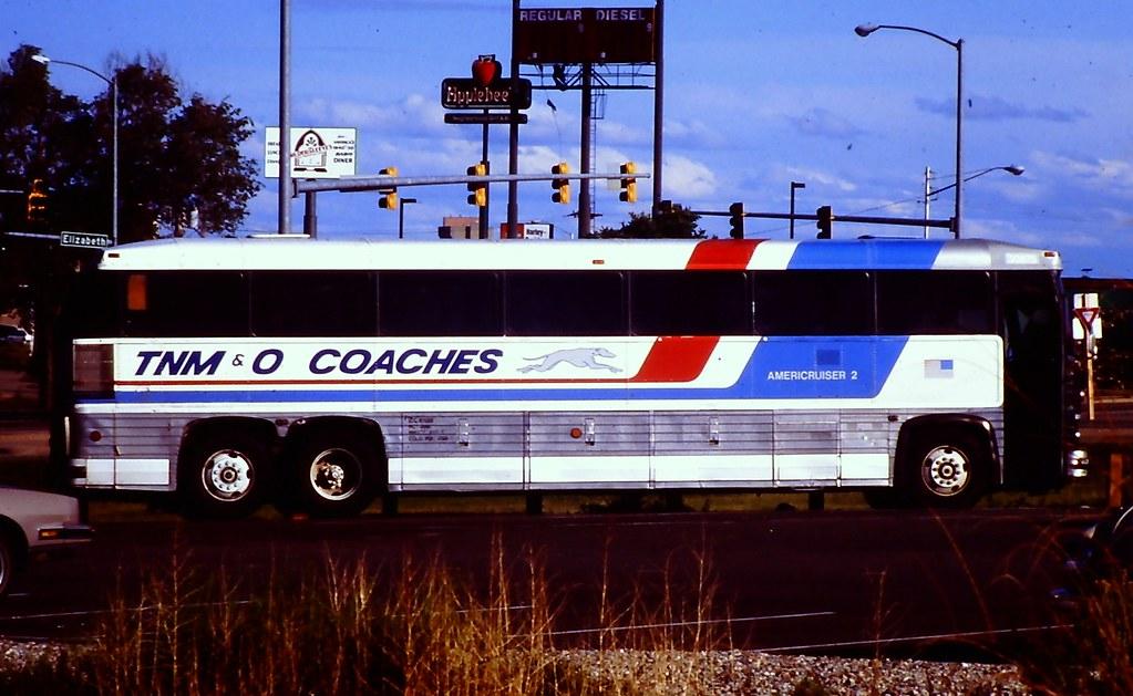 Tnm Amp O Bus Mci Mc 9 Taken At Pueblo Co On May 27 1995