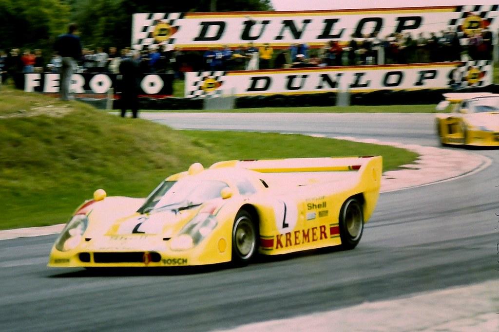 Kremer Porsche 917 K-81 of Bob Wollek & Henri Pescarolo ex ...