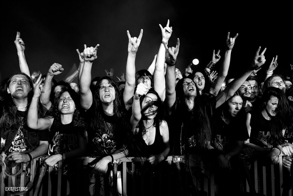 Crowd at Kreator, Explosive Stage #EXIT2011 | exitfest.org ...