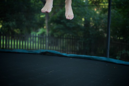 Trampoline in use.  Day 312. | by PV KS