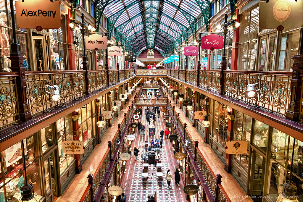 Strand Arcade Hdr One Of My Favorite Places To Hang Out