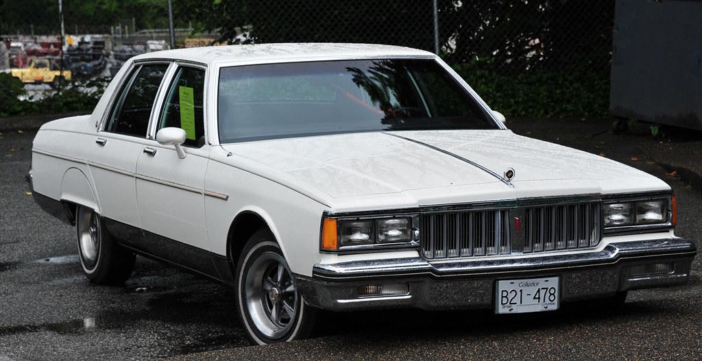 1986 Pontiac Parisienne 7000 Miles Original 305 V8 Power