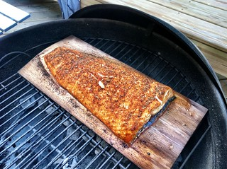 365 Days Project 008/365: Cedar Plank Salmon On The Grill | by _BuBBy_